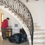 Lépcsőfeljáró korlát